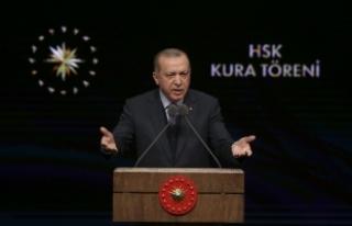 Cumhurbaşkanı Erdoğan: Şu an itibarıyla 3622...