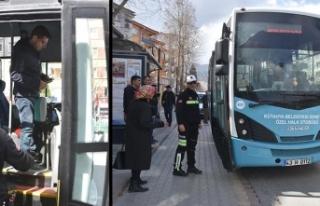 Halk otobüsü şoförü alkollü çıkınca ehliyetine...