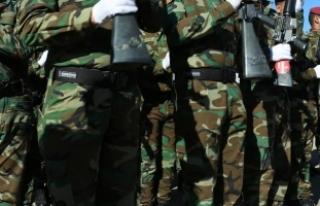 Irak'ta Şii milis gücü Haşdi Şabi'ye...