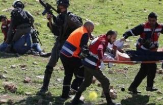 İsrail askerleri üniversite öğrencilerine müdahale...