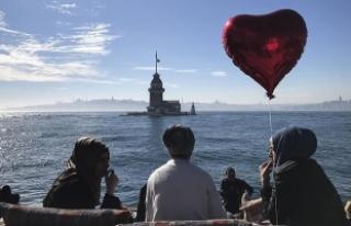 İstanbullular güneşin tadını çıkardı