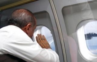 Cumhurbaşkanı Erdoğan Bulgaristan'a gitti