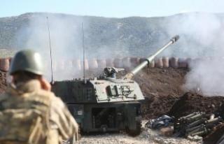 Kafermez Köyü teröristlerden temizledi
