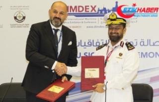 Katar donanmasına Türkiye'den 2 savaş eğitim...