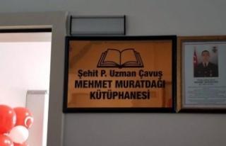 Kayseri'de Afrin şehidi Muratdağı adına yaptırılan...
