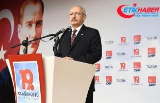 Kılıçdaroğlu: Senin yerin CHP'nin kapısının...