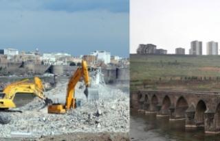 Kırklar Dağı'nda 6 yılda yapılan konutlar...