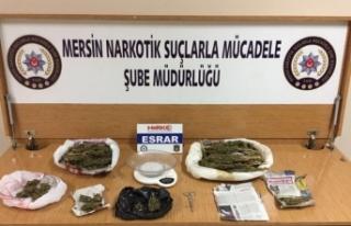 Mersin'de uyuşturucu operasyonu: 12 gözaltı