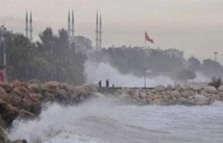 Marmara ve Ege için fırtına uyarısı