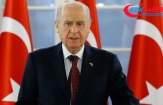 MHP Lideri Bahçeli'den İlham Aliyev'e kutlama...
