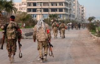 ÖSO'dan Afrin'de yağma suçu işleyenlere...
