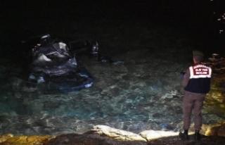 Otomobili denize devrilen Bodrum Belediye Başkan...