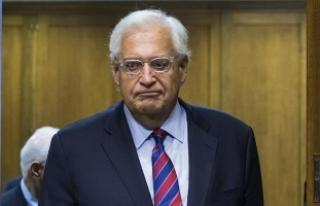 Tel Aviv Büyükelçisi Friedman'dan Abbas'a...