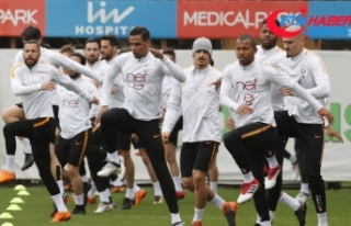 Trabzonspor maçı hazırlıkları sürdü