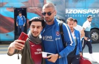 Trabzonspor kafilesi İstanbul'a gitti