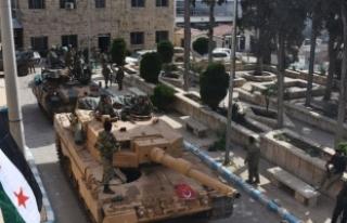 TSK ve ÖSO Afrin merkezinde