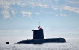 Türk denizaltısı TCG Preveze Arnavutluk'ta