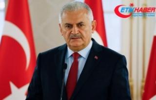 Başbakan Yıldırım: Bizim Yunanistan'a tavsiyemiz;...