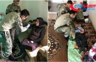 YPG/PKK'nın elinden kurtarılan siviller sağlık...
