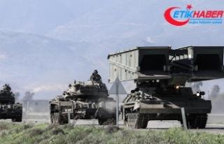 Zeytin Dalı Harekatı'nda 3444 terörist etkisiz...
