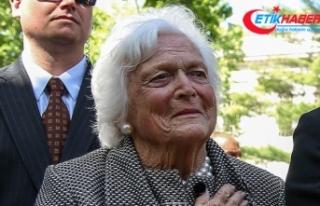 ABD'nin 41. Başkanı Bush'un eşi hayatını...