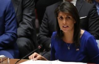 ABD'nin BM Daimi Temsilcisi Haley: Suriye'den...