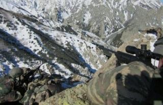 Ağrı Dağı bölgesinde 8 terörist etkisiz hale...