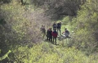 Ankara'da çevre yolunda ağaca asılı ceset bulundu