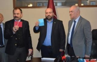 Trabzonspor'da başkan adayları listelerini teslim...