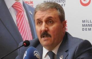 BBP Genel Başkanı Destici: Ağır faturayı yine...