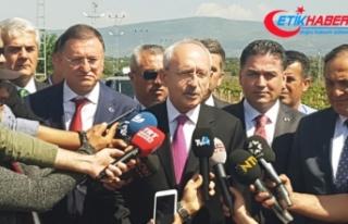 CHP Genel Başkanı Kılıçdaroğlu, sınır karakolunu...