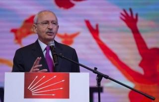 CHP Genel Başkanı Kılıçdaroğlu'ndan Suriye...