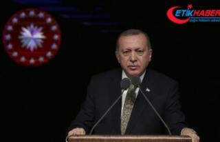 Cumhurbaşkanı Erdoğan: Turgut Özal her zaman saygıyla...