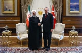 Erdoğan ile Ruhani Trump'ın İran kararını...