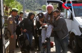 Fethiye'de 111 kaçak göçmen yakalandı