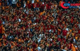 Galatasaray seyirci rekoru kırdı