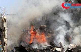 Bomba yüklü araç patlatıldı: 3 yaralı