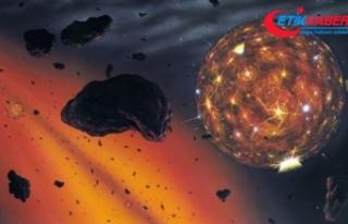 Plüton'un yüzeyinde donmuş metan kumulları...