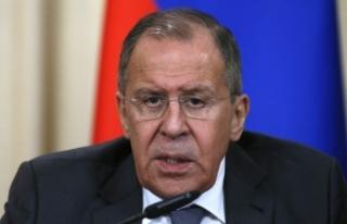 """Lavrov """"çok tehlikeli bir gelişme"""" diye..."""