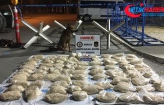 Mersin'de 528 bin uyuşturucu hap ele geçirildi