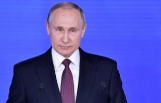 """Putin, ABD ve Batılı ülkelere """"karşı yaptırım""""..."""