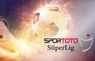 Spor Toto Süper Lig'de 32. haftanın görünümü