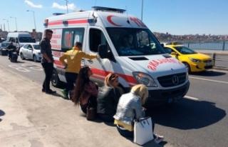 Unkapanı Köprüsü'ndeki kazada 3 kadın turist...
