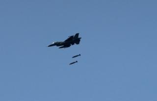 Irak'ın kuzeyine hava harekatı: 10 terörist...