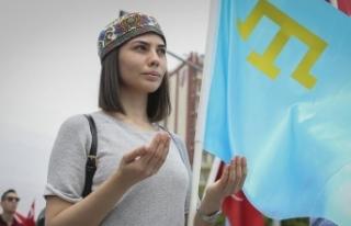 '18 Mayıs Kırım Tatarlarının birleştiği...