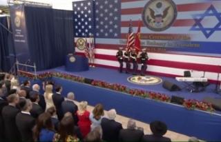 ABD, katliamın gölgesinde Kudüs'te büyükelçiliğini...