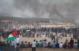 İsrail'den Gazze'ye top atışı: 1 şehit,...