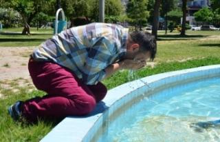 Adana'da sıcak bunalttı