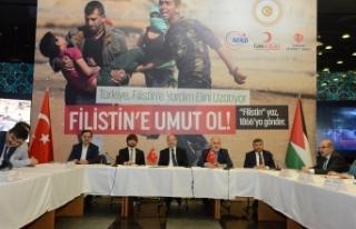 Akdağ'dan Filistin'e yardım kampanyası açıklaması