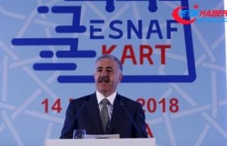 Arslan: Esnaf Kartla esnafın ekonomiye katkısı...